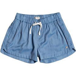 Little Girls Una Mattina Beach Shorts