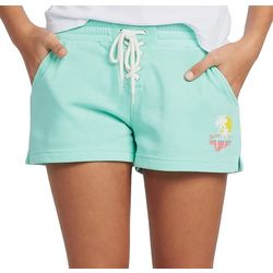 Little Girls Solid Barbie Sweat Shorts