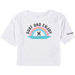 Hurley Little Girls Surf And Enjoy T-Shirt