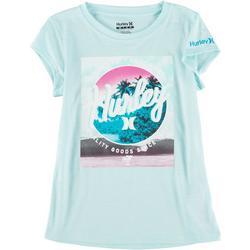 Little Girls Beach Photo T-Shirt