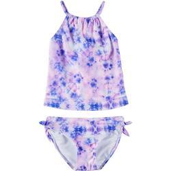 Big Girls Tie Dye Tankini Swimsuit Set