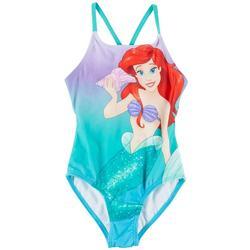 Little Girls Ariel Swimsuit