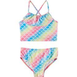Little Girls Rainbow Tankini Swimsuit