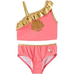 Reel Legends Little Girls Shell Tankini Swimsuit