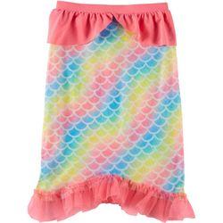 Little Girls Rainbow Mermaid Tail