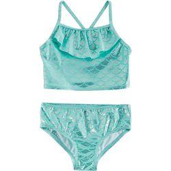 Little Girls Mermaid Tankini Swimsuit