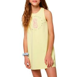 Big Girls Lillie Pineapple Cover-Up Dress