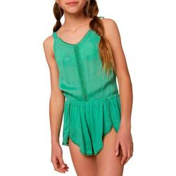 Big Girls Emmy Cover-Up Romper