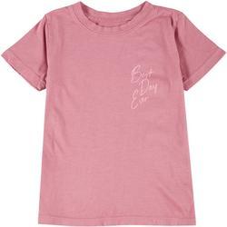Little Girls Best Day Ever T-Shirt