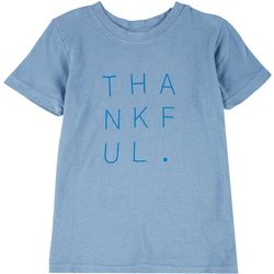 Lovers of Hyoumanity Little Girls Thankful T-Shirt