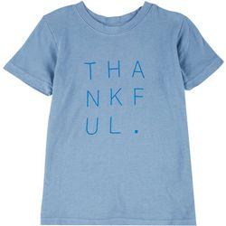 Little Girls Thankful T-Shirt