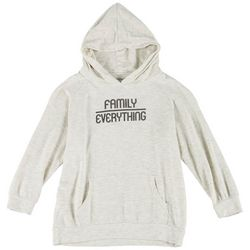 Lovers of Hyoumanity Big Girls Family Over Everything Hoodie