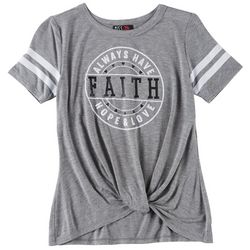 Miss Chievous Big Girls Faith T-Shirt