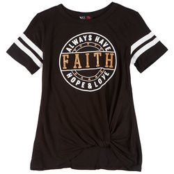 Miss Chievous Big Girls Faith T-Shirt