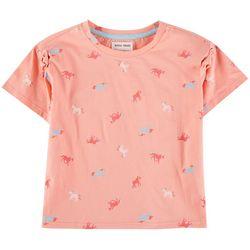 Reverse Threads Big Girls Unicorn T-Shirt