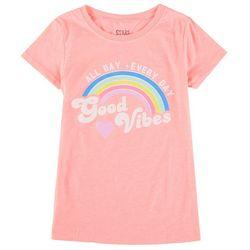Stars & Sprinkles Big Girls Good Vibes Rainbow Top