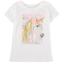 Stars & Sprinkles Big Girls Unicorn Magic Vibes Top