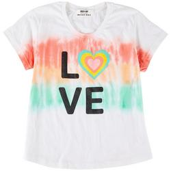 Big Girls Rainbow Love Top