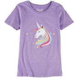 Big Girls Unicorn Screen Print Top