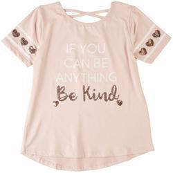 Big Girls Be Kind Crossback Short Sleeve Top