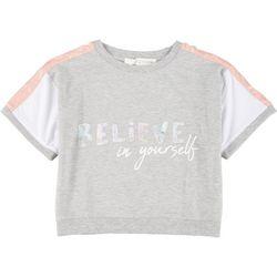 Peaceful Warrior Big Girls Believe In Yourself T-shirt
