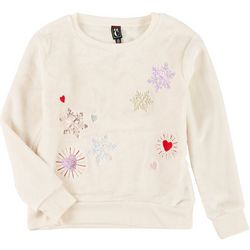 Kidopia Big Girls Long Sleeve Sequin Pullover