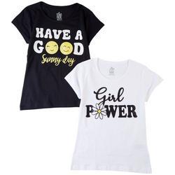 Big Girls 2-pk. Girl Power T-Shirt Set