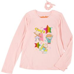 Nickelodeon Big Girls Rugrats Long Sleeve T-Shirt