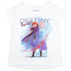 Disney Frozen II Little Girls Destiny Awaits T-Shirt