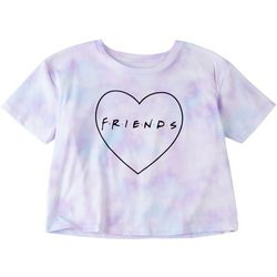 Friends Big Girls Tie Dye Friends Crop T-Shirt