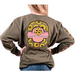 Simply Southern Big Girls Long Sleeve Bloom T-Shirt
