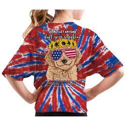 Simply Southern Big Girls Americana Sunshine T-Shirt