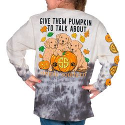 Simply Southern Big Girls Give Them Pumpkin To Talk T-Shirt
