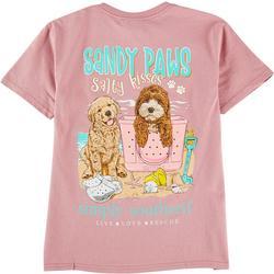 Big Girls Sandy Paws T-Shirt