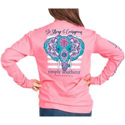 Simply Southern Big Girls Be Strong & Courageous T-Shirt