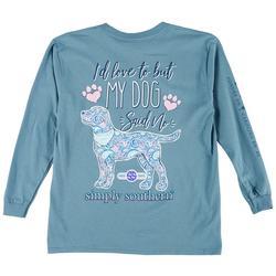 Big Girls My Dog Said No T-Shirt