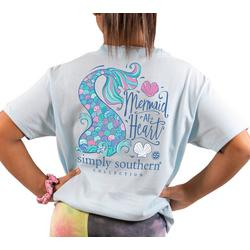 Big Girls Mermaid At Heart T-Shirt