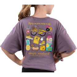 Simply Southern Big Girls Enjoy The Little Things T-Shirt