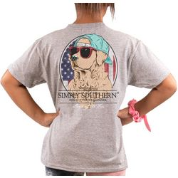 Simply Southern Big Girls Land Of The Free T-Shirt