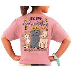 Simply Southern Big Girls Dog Kisses T-Shirt