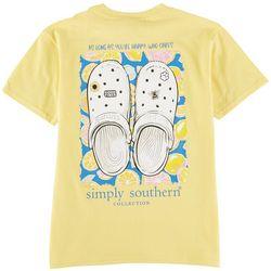 Simply Southern Big Girls Clogs T-Shirt