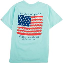 Simply Southern Big Girls Wild & Free T-Shirt