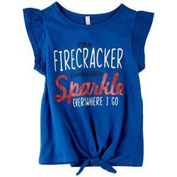 Runway Girl Big Girls Firecracker T-Shirt