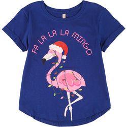 Little Girls Fa La La Mingo Tee