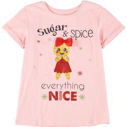 Little Girls Sugar & Spice Tee