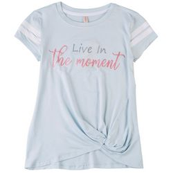 Runway Girl Big Girls Live In The Moment T-Shirt