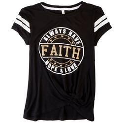 Big Girls Faith Hope Love T-Shirt