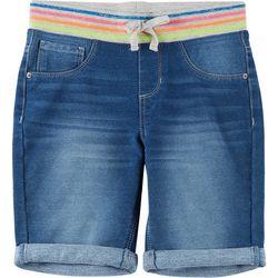 Big Girls Denim Bermuda Shorts