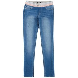 Vanilla Star Big Girls Pull On Denim Pants