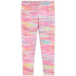 Little Girls Space Dye Pull-On Leggings